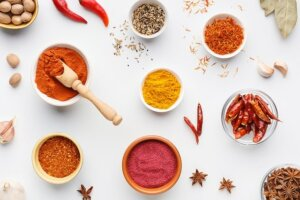 different kind of spices
